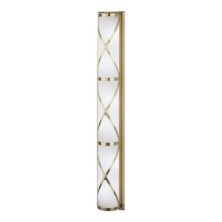 Robert Abbey Chase Wall Sconce in Antique Brass Finish 1988