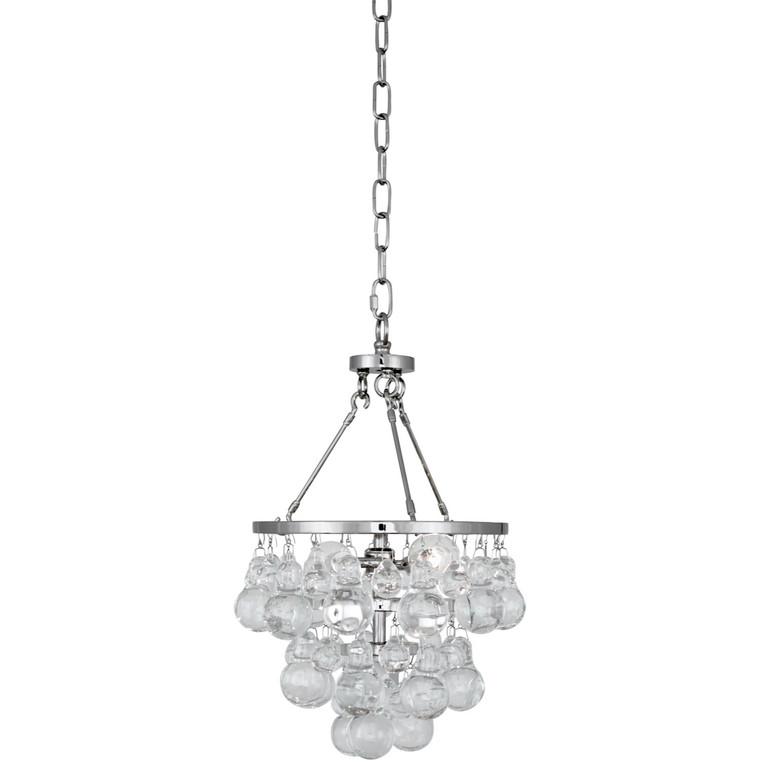 Robert Abbey Bling Pendant in Polished Nickel Finish S1006