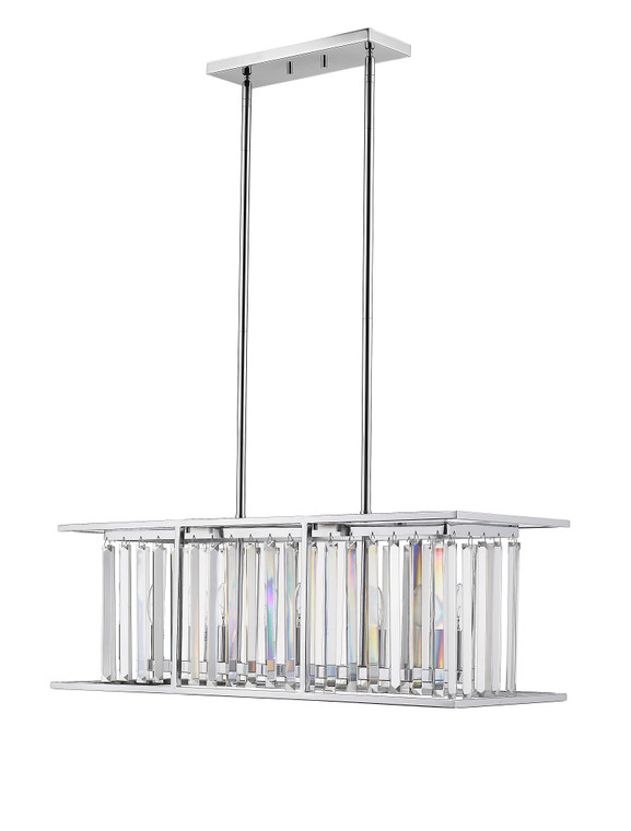Z-Lite Monarch Chandelier in Chrome 439-32CH