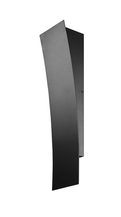 Z-Lite Landrum Outdoor Wall Sconce in Black 581M-BK-LED