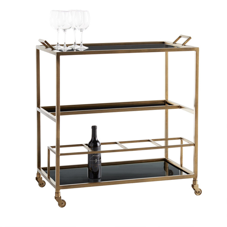 Arteriors Home Jak Bar Cart 4395