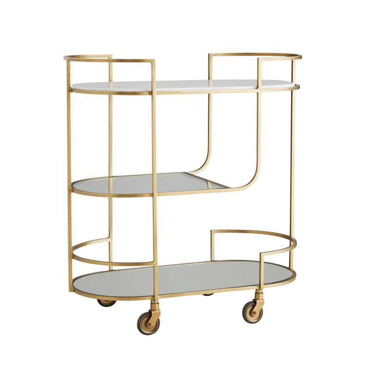 Arteriors Home Trainor Bar Cart 6857