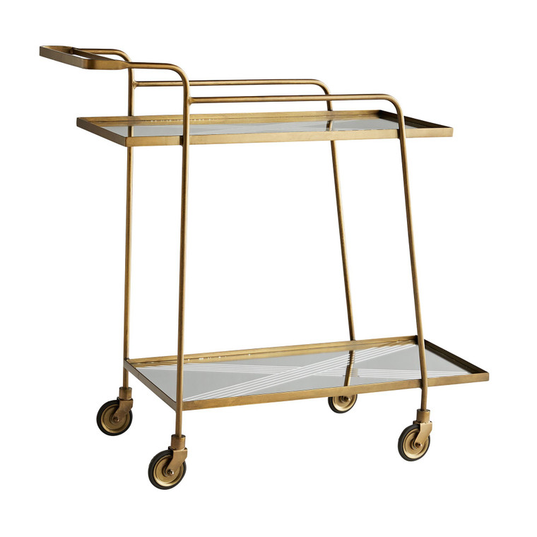 Arteriors Home Odette Bar Cart 6913
