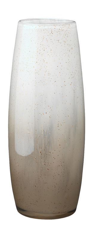 Jamie Young Solar Large Vase in Gold Ombre Glass 7SOLA-LGGO