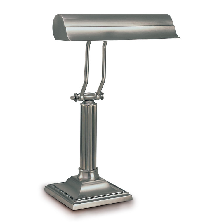 Lite Master Ashley Piano Lamp or Desk Lamp in Antique Nickel on Solid Brass T5915AN
