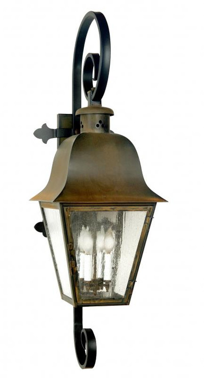 Fourteenth Colony Outdoor Lighting Dover Wall Lantern 4 Candle Bulbs 4141-IB05