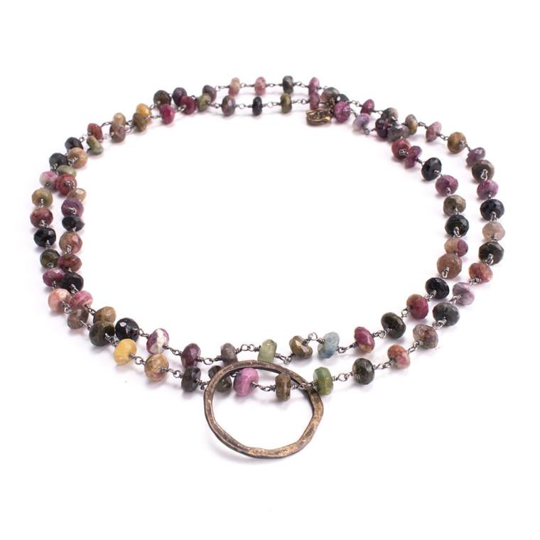 Regina Andrew Betty Eyeglass Holder Necklace Basic Tourmaline 67-08-0013V