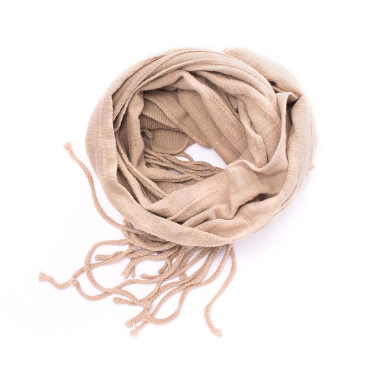 Regina Andrew Mud Cloth Scarf in Natural Linen 77-03-0004