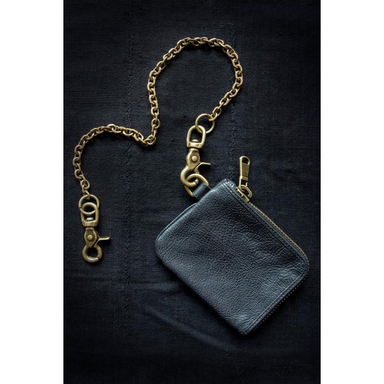 Regina Andrew Rocker's Black Leather Wallet 77-02-0025