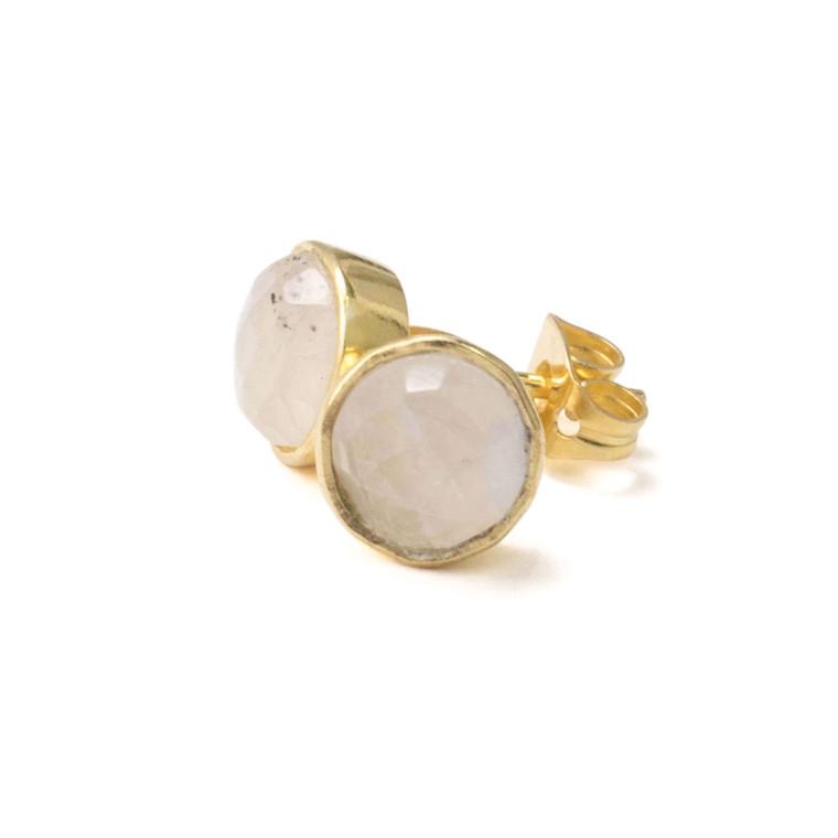 Regina Andrew April Earrings Moonstone (Gold) 67-06-0126
