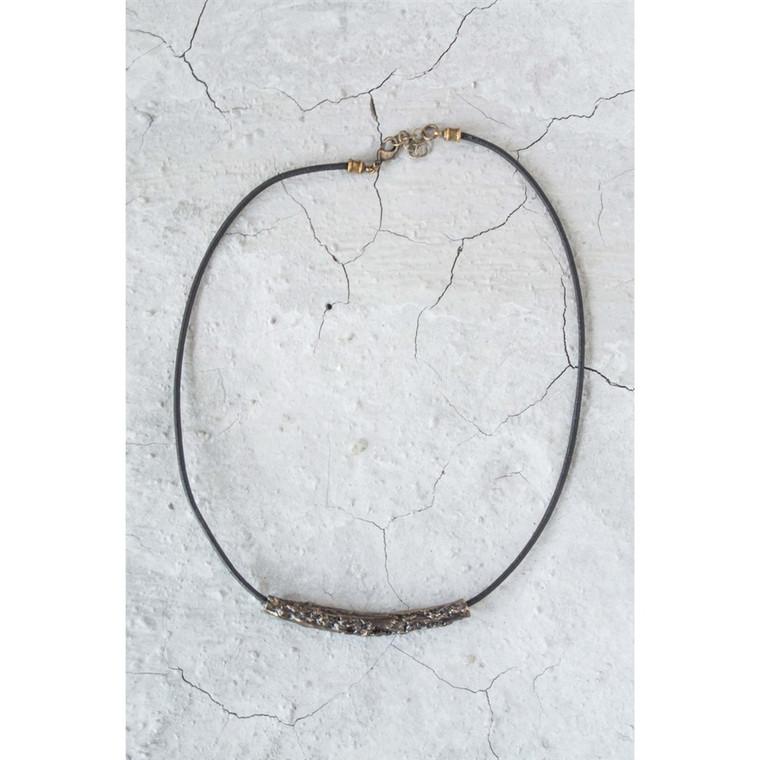 Regina Andrew Dakota Necklace Leather in Antique Bronze 67-03-0052