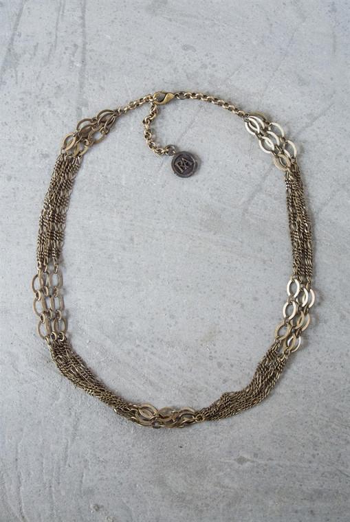 Regina Andrew Ginger Choker Chain (Antique Brass) 67-03-0043