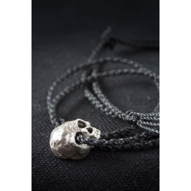 Regina Andrew Mikey Necklace Skull in Sterling Silver 67-02-0068SS