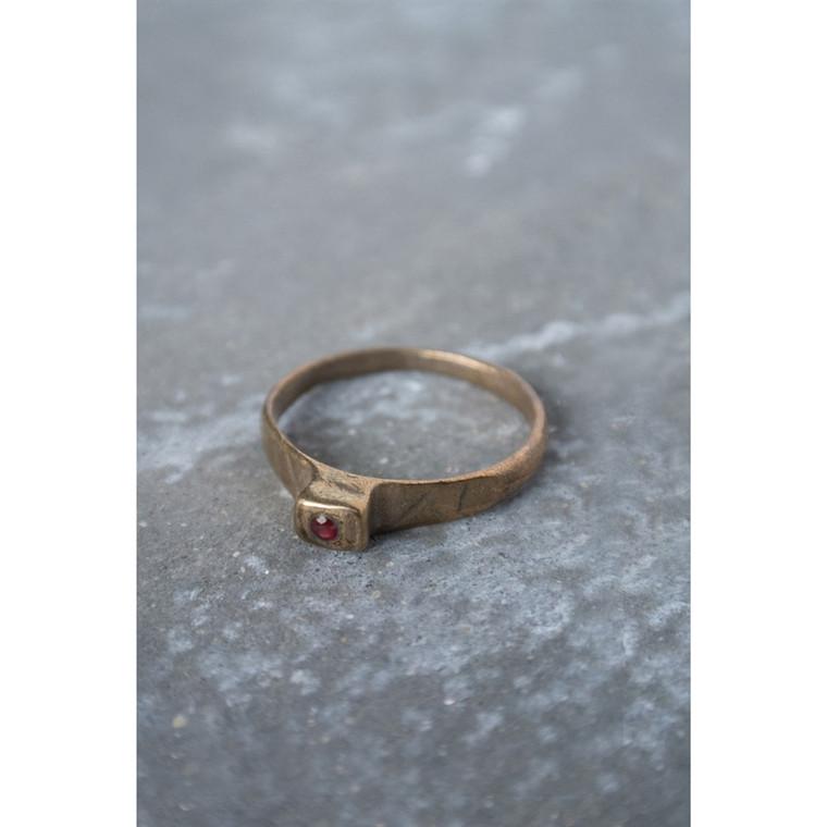 Regina Andrew Wilde Ruby Ring in Bronze Multiple Sizes 67-07-0153