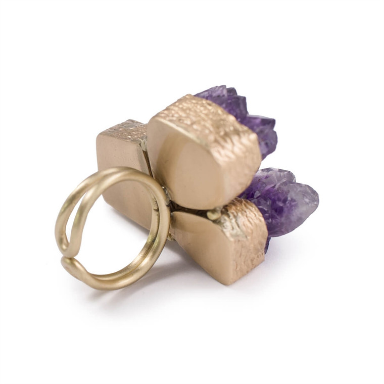 Regina Andrew Abbey Amethyst Ring Multiple Sizes 67-07-0169