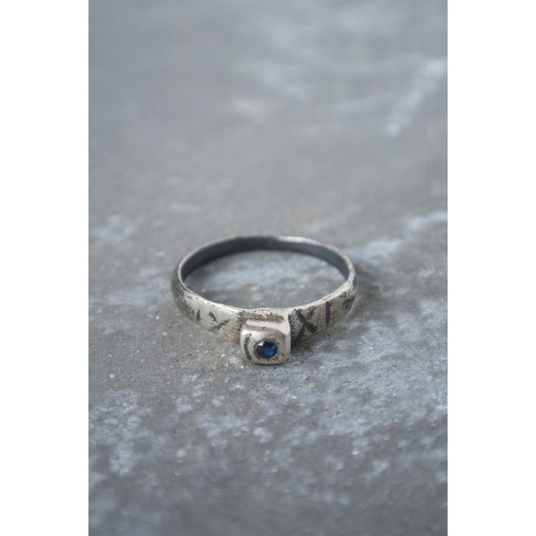 Regina Andrew Wilde Sapphire Ring in Sterling Silver Multiple Sizes 67-07-0155