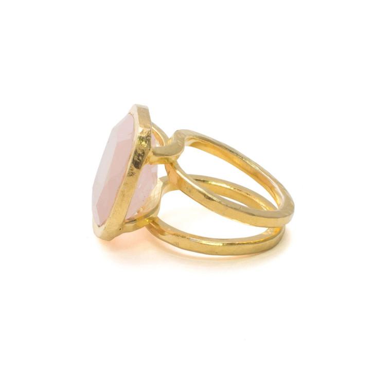 Regina Andrew Carla Ring Brass Pink Multiple Sizes Multiple Sizes 67-07-0175PNK
