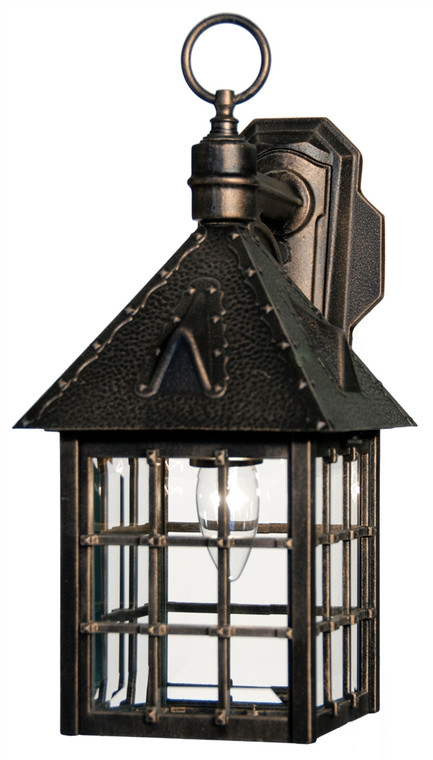 Hanover Lantern B8012RM Small Abington Wall Mount