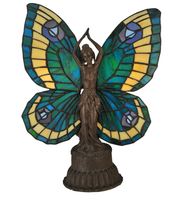 """Meyda Lighting 17""""H Butterfly Lady Accent Lamp 48019"""