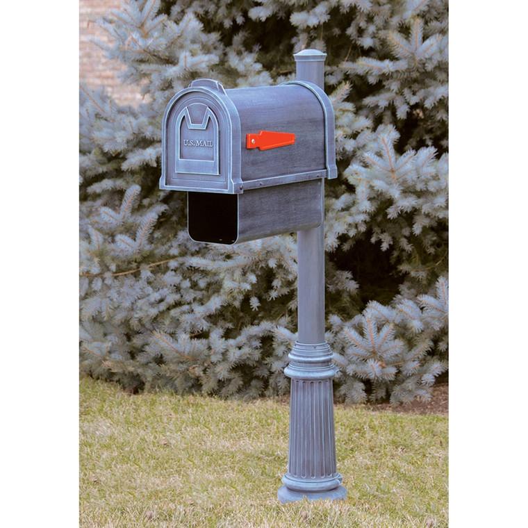Hanover Lantern M202 Oakmont Mailbox with Newspaper Box