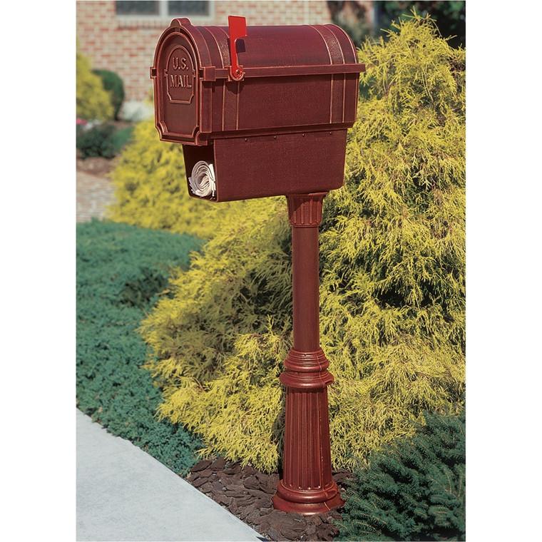 Hanover Lantern M61N Pine Valley Mailbox with Newspaper Box