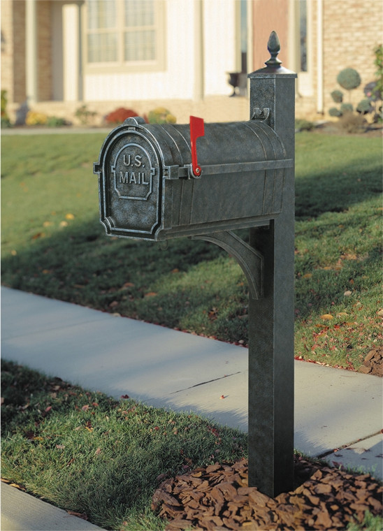 Hanover Lantern M80N Pine Valley Mailbox with 4 inch Square Post