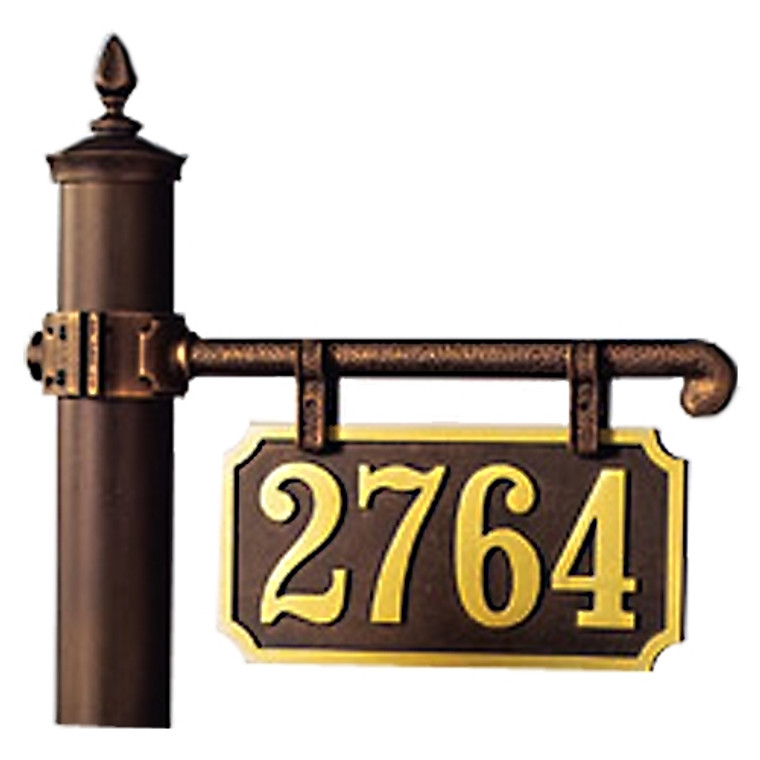 Hanover Lantern R223-3 Cast Ladder Rest Sign One Sided Only with Raised Cast Characters