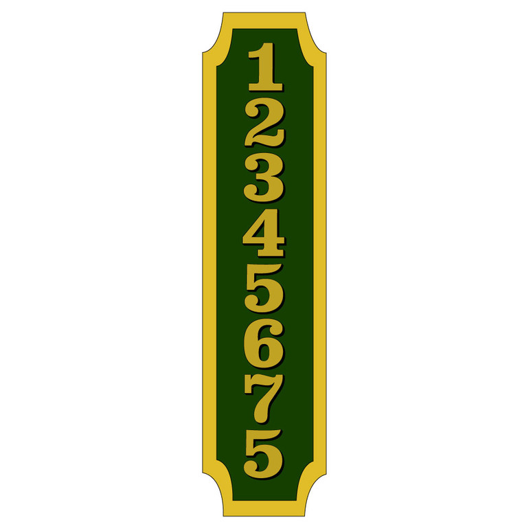Hanover Lantern R227 Cast Wall Sign with Raised Cast Characters