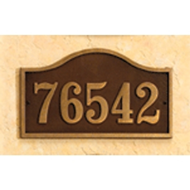 Hanover Lantern R619 Cast Wall Sign with Raised Cast Numbers
