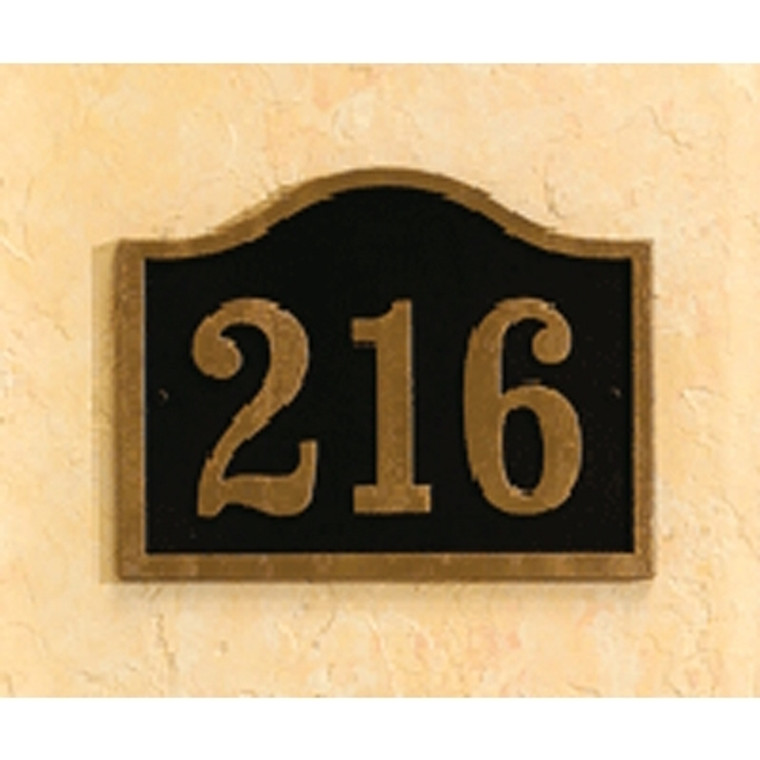 Hanover Lantern R630 Cast Wall Sign with Raised Cast Numbers