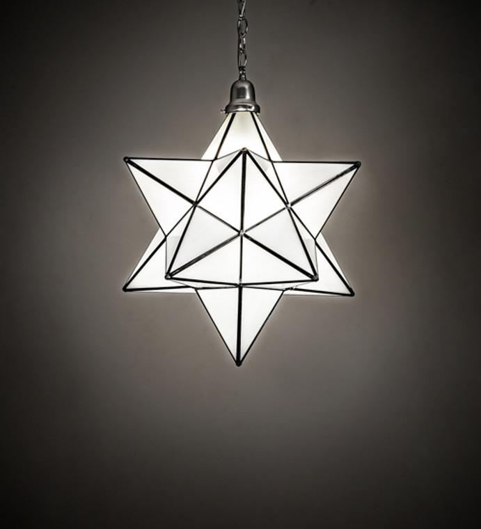 "Meyda Lighting 18"" Wide Moravian Star Pendant 162855"