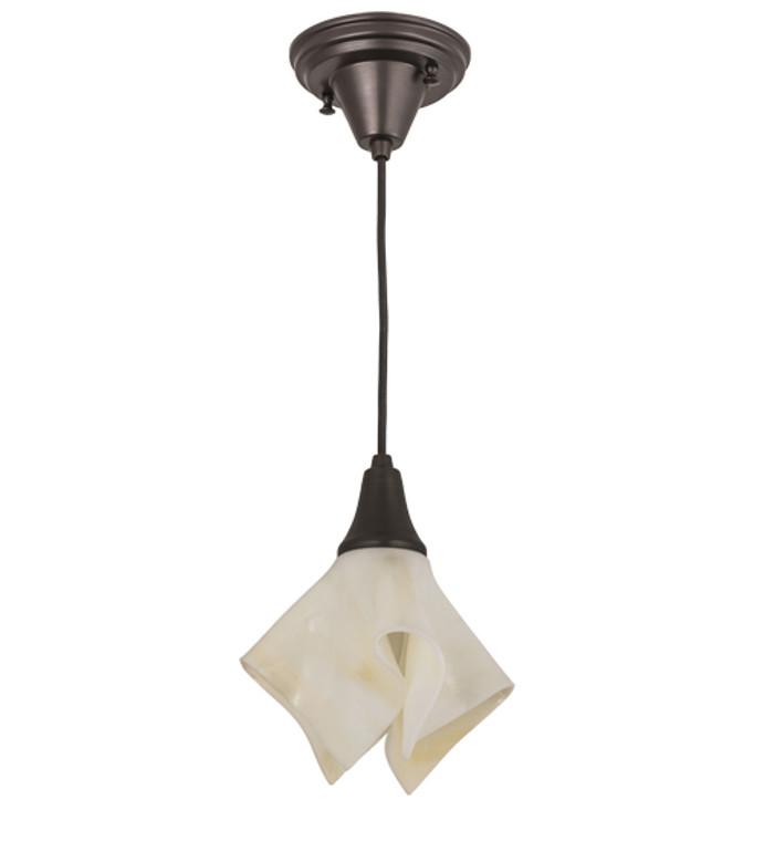 """Meyda Lighting 10"""" Wide Handkerchief Milano Pendant 187956"""