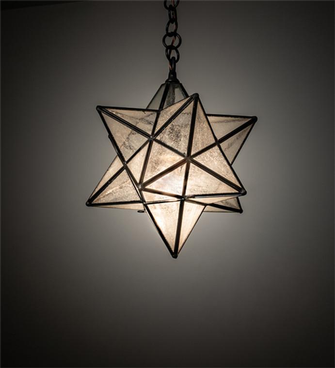 "Meyda Lighting 12"" Wide Moravian Star Pendant 196886"