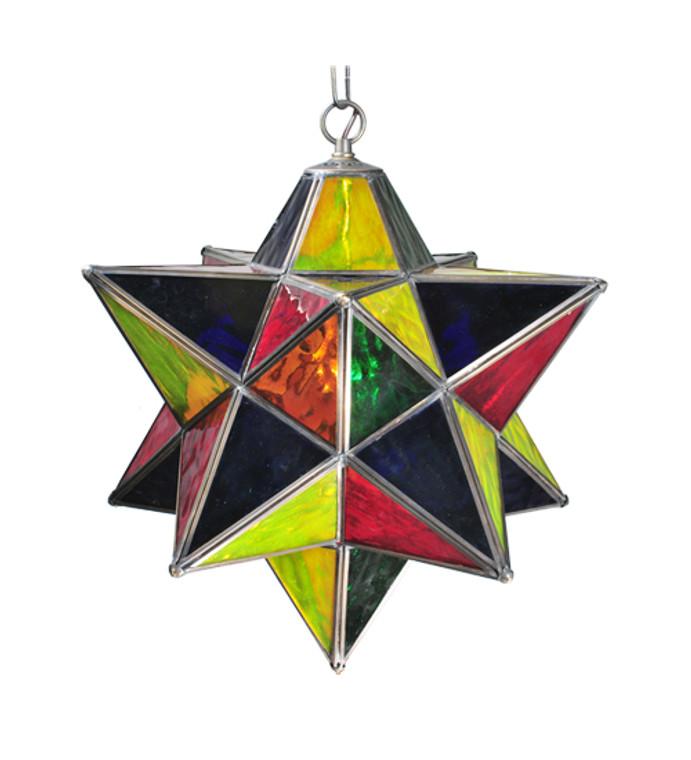 "Meyda Lighting 18""W Moravian Star Pendant 30059"