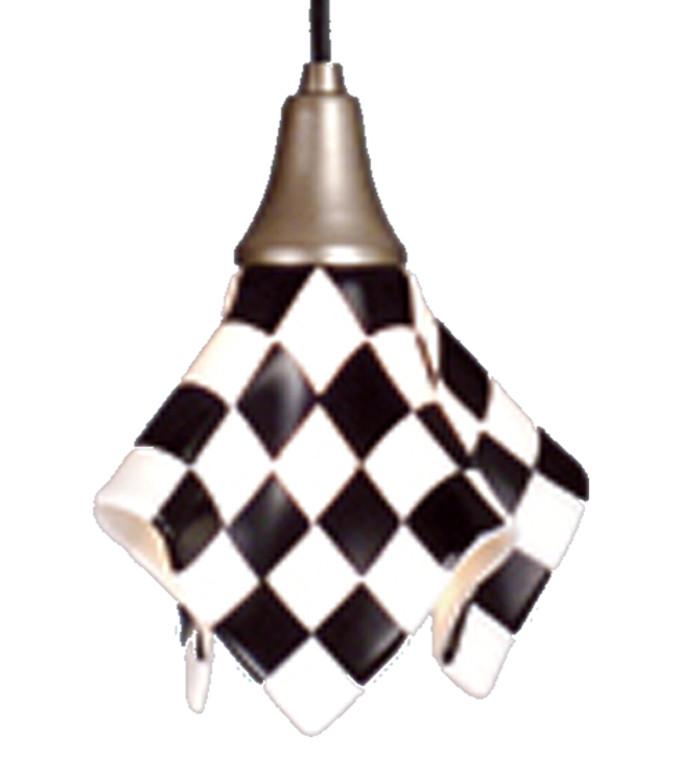 "Meyda Lighting 9"" Wide Handkerchief Grand Prix Mini Pendant 81355"