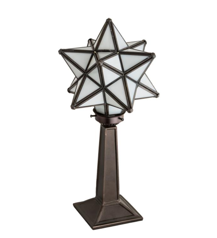 "Meyda Lighting 17"" High Moravian Star Accent Lamp 18473"