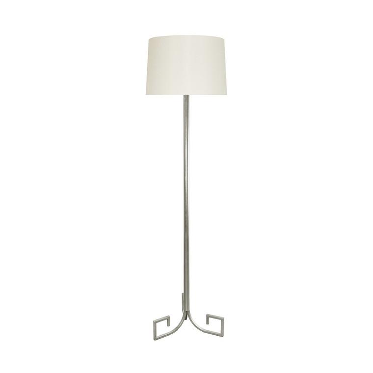 Worlds Away Merlin Floor Lamp in Silver Leaf MERLIN S