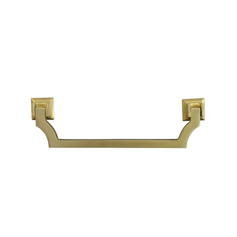 Worlds Away Murray Swinging Handle Hardware in Antique Brass MURRAY HABR