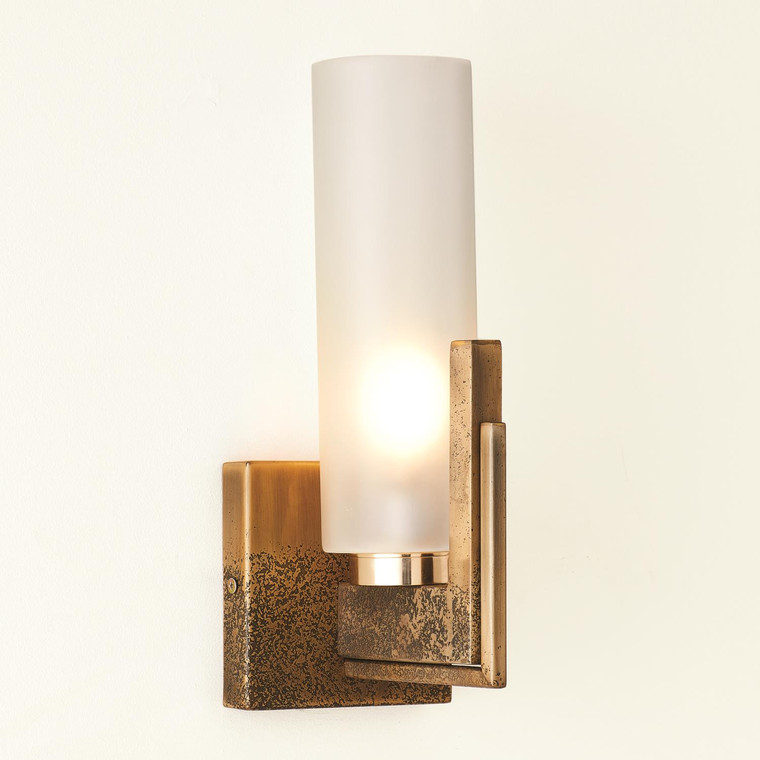 Global Views Stoic Sconce-Ombre Brass-HW 7.90993-HW