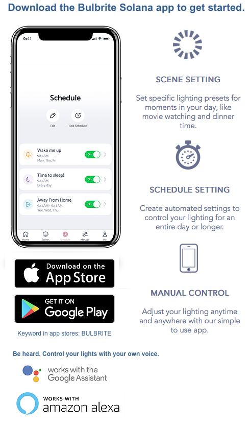 Smart Bulbs App