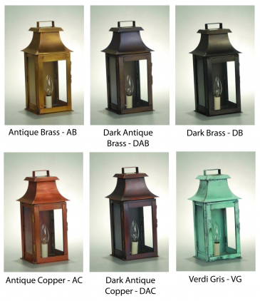 Northeast Lantern Finish Samples