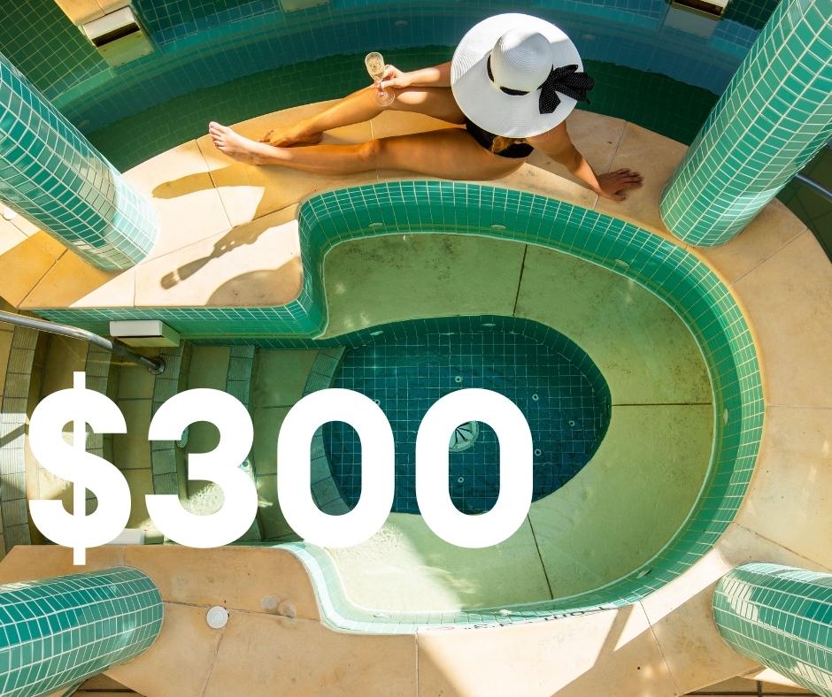 $300 Spa Credit