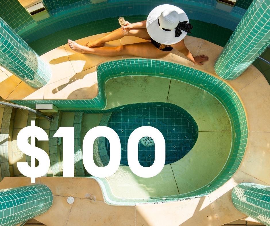 $100 Spa Credit