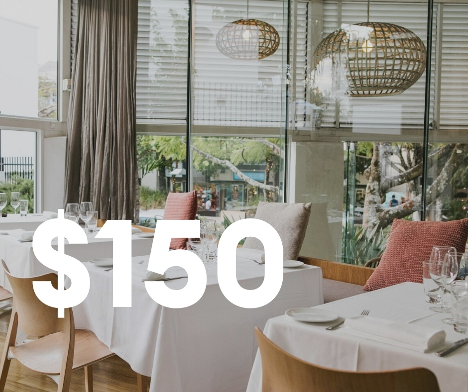 $150 Restaurant Credit