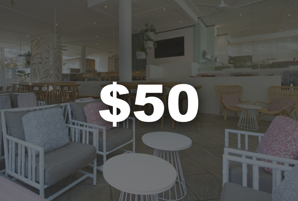 $50 Restaurant Credit