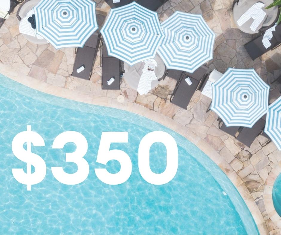 $350 Resort Credit