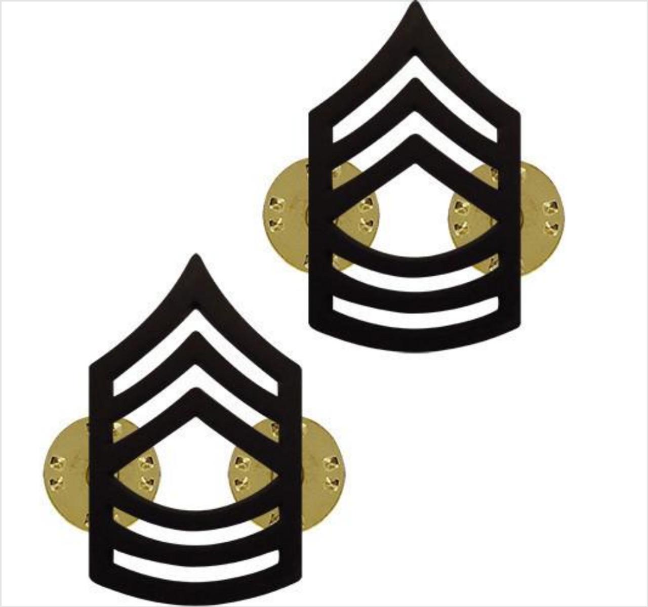 USMC Marine E-8 MSgt Master Sergeant Rank Insignia Sticker Chevron Car Decal