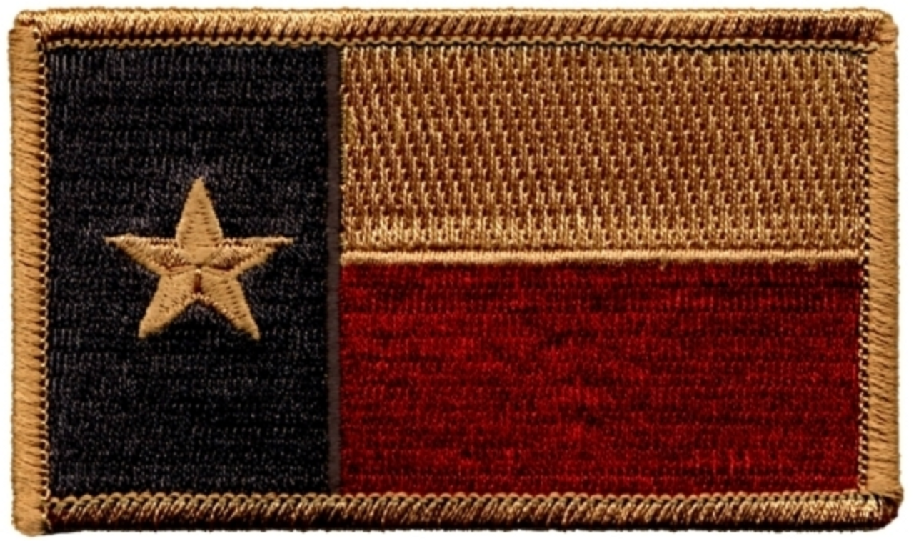 texas flag patch subdued color military depot texas flag patch subdued color