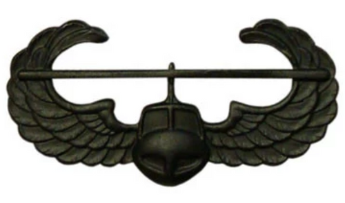 Army Air Assault Badges - Black