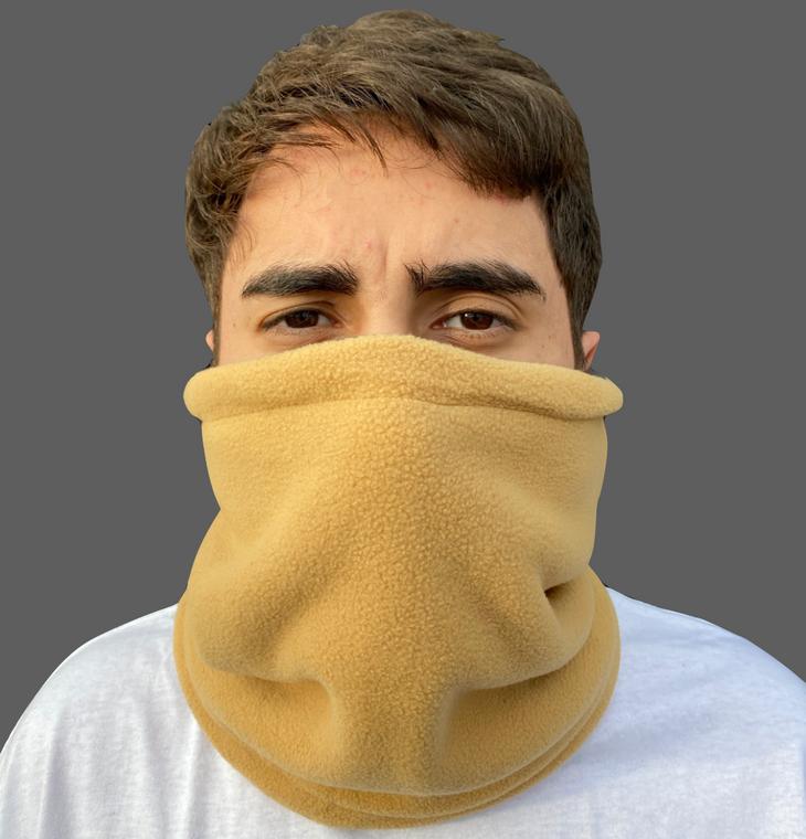 Micro-Fleece Reversible Neck Gaiter